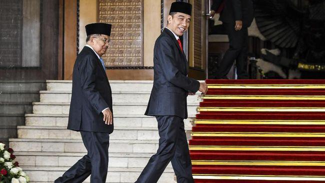 Jokowi: JK Sekarang Sudah Bebas dan Lepas