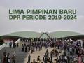 VIDEO: Lima Pimpinan Baru DPR Periode 2019-2014