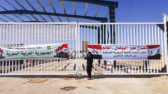 ISIS Kalah, Irak dan Suriah Buka Jalur Penyeberangan