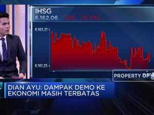 Ekonom : Pasar Keuangan Paling  Terdampak Demo DPR