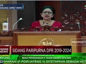 Ini Pidato Lengkap Puan Maharani  Sebagai Ketua DPR RI