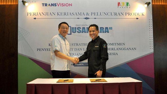 Transvision Luncurkan Nusantara HD