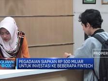 Cari Mitra Fintech, Pegadaian Siapkan Rp 500 Miliar
