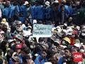 Antiklimaks Demonstrasi Jelang Pelantikan Jokowi
