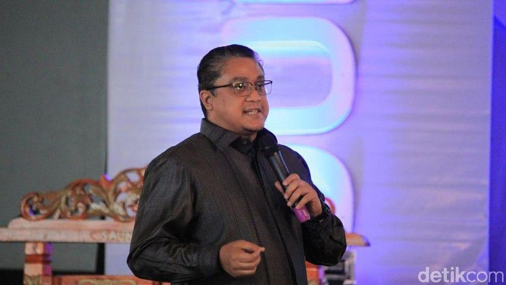 Dede Yusuf dari Partai Demokrat, Dapil Jawa Barat II. (Wisma Putra/detikcom)