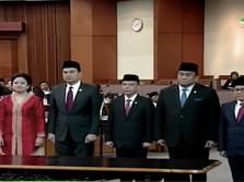 Sah! Puan Maharani Perempuan Pertama yang Jadi Ketua DPR