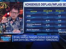 Ada Potensi Deflasi 0,06% Pada  September 2019
