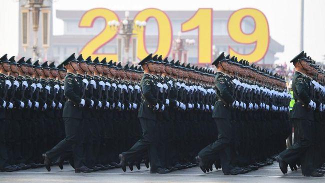China Bersiap Gelar Parade Militer Terbesar Sepanjang Sejarah