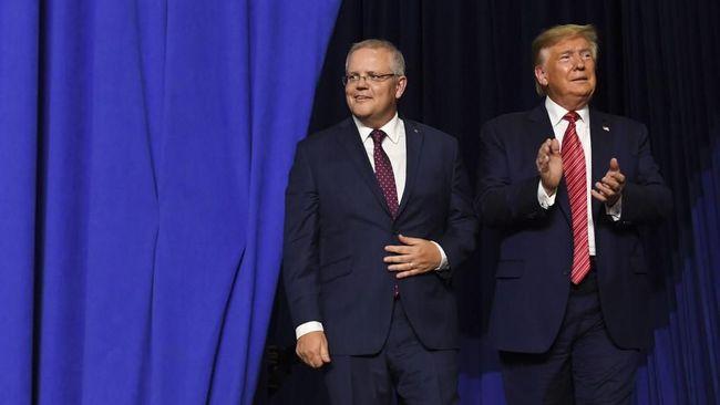 Trump Minta Australia Bantu Jatuhkan Penyelidikan soal Rusia
