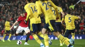 McTominay Bawa MU Unggul 1-0 atas Arsenal di Babak Pertama