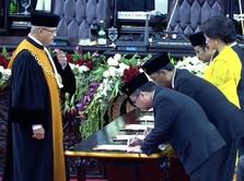 Sah! 575 Anggota DPR Periode 2019-2024 Resmi Menjabat