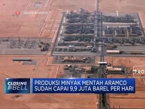 Sebulan Pasca Serangan, Produksi Aramco Berangsur Pulih