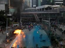Hong Kong Berdarah, Polisi Tembak Pengunjuk Rasa