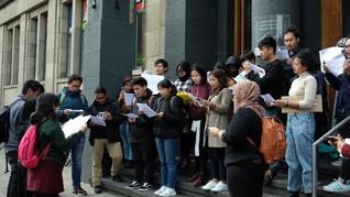 Pelajar WNI di Luar Negeri Desak Jokowi Terbitkan Perppu KPK