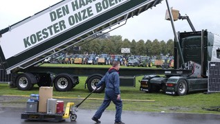 Petani Belanda Kembali Demo Tolak Riset Emisi Nitrogen