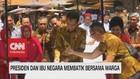 VIDEO: Presiden & Ibu Negara Membatik Bersama Warga