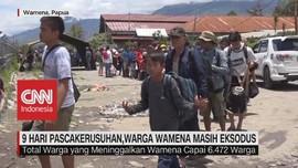 VIDEO: 9 Hari Pascakerusuhan, Warga Wamena Masih Eksodus