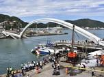 Jembatan Runtuh di Taiwan, Tiga WNI Tewas