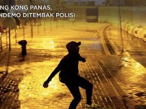 Hong Kong Panas, Pendemo Ditembak Polisi