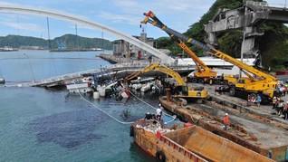 Taiwan Tanggung Biaya Pemakaman WNI Korban Jembatan Ambruk