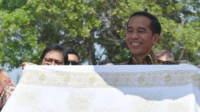 Jokowi Bertemu PM Belanda di Istana Bogor
