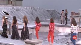 VIDEO: Detik-detik Show Chanel Kedatangan Penyusup