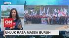 VIDEO: Aksi Unjuk Rasa Massa Buruh