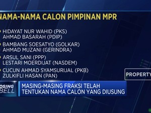 MPR Bersiap Tentukan Jajaran Pimpinan