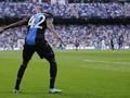 Striker Brugge Selebrasi Ala Ronaldo di Kandang Madrid