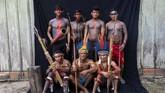 """""""Amazon sedang berakhir, dan itu sebabnya kami ada di sini, sehingga Amazon takkan pernah berakhir,"""" ujar Lorival, kepala suku tertua yang juga mendirikan desa Tekohaw. (AP Photo/Rodrigo Abd)"""