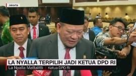 VIDEO: La Nyalla Terpilih Jadi Ketua DPD RI