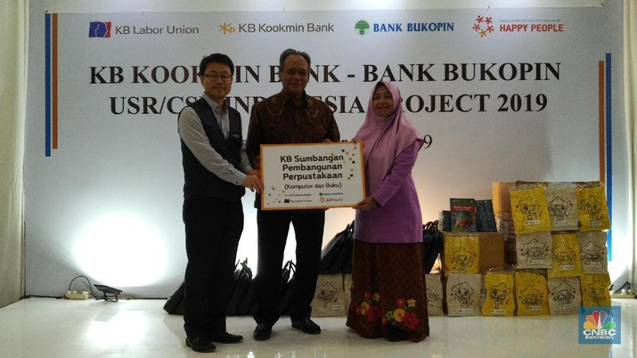 Bank Bukopin & Kookmin Bank Kerjasama Bangun Perpustakaan