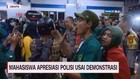 VIDEO: Mahasiswa Apresiasi Polisi Usai Demonstrasi