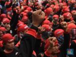 Kepung DPR, Ini Tiga Permintaan Buruh