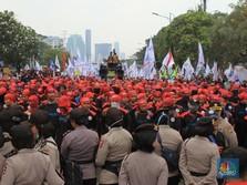 Kepung DPR, Buruh Klaim Turun ke Jalan di 10 Provinsi