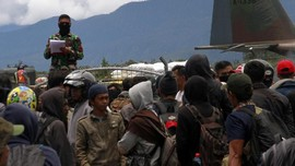 Jokowi Minta Semua Bangunan Rusak di Wamena Diperbaiki