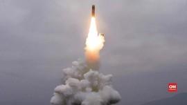 VIDEO: Korut Uji Coba Peluncuran Rudal dari Kapal Selam