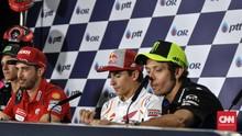Dovizioso: Rossi Lebih Berbakat dibanding Marquez