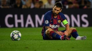 Messi Terancam Larangan Main di Inggris
