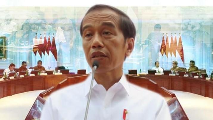 Jokowi menegaskan bahwa Indonesia masih berada di jalan yang benar untuk mencapai cita-cita 2045.