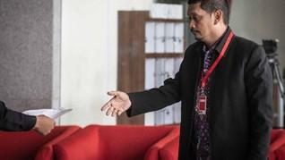 Kuasa Hukum: Direktur PT INTI Koperatif Saat Pemeriksaan KPK