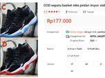 Duh, Sepatu Impor Vietnam Juga Obrak-Abrik Toko Online