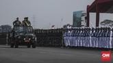 Perayaan akan dipusatkan di Pangkalan Udara Halim Perdanakusuma, Jakarta Timur. (CNN Indonesia/Bisma Septalisma)
