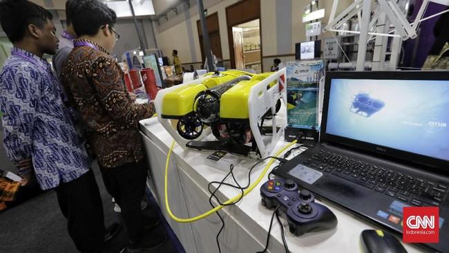 Hajatan tahunanini sudah diselenggarakan sejak tahun 2015 oleh Kementerian Riset, Teknologi dan Pendidikan Tinggi. (CNN Indonesia/Adhi Wicaksono)