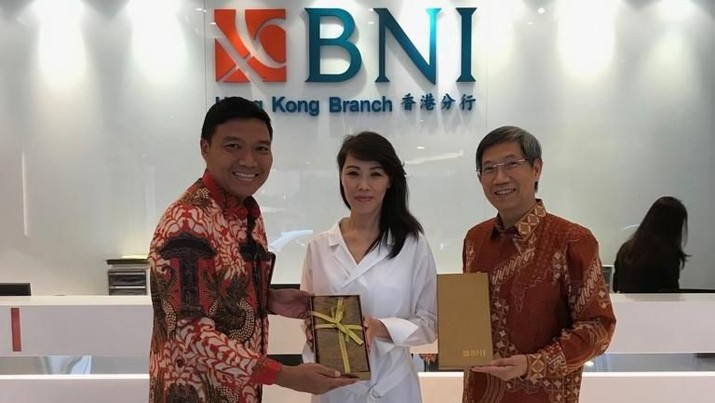 BNI turut memeriahkan Hari Batik Nasional yang jatuh pada 2 Oktober 2019 hingga di Hong Kong. (Dok.BNI