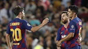Suarez Ungkap Syarat Messi Bertahan di Barcelona