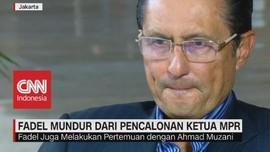 VIDEO: Fadel Mundur Dari Pencalonan Ketua MPR