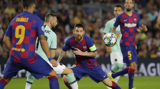 Kata-kata Sakti Messi Kunci Barcelona Bungkam Inter