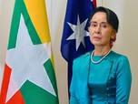 Aung San Suu Kyi Nyalon Pemimpin Myanmar Lagi