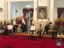 5 Tahun Kerja Keras, Jokowi Ucapkan Terima Kasih ke Menteri
